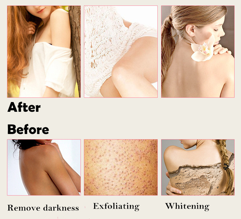 Johom pure honey essence exfoliating cream skin whitening body before afterg ccuart Image collections