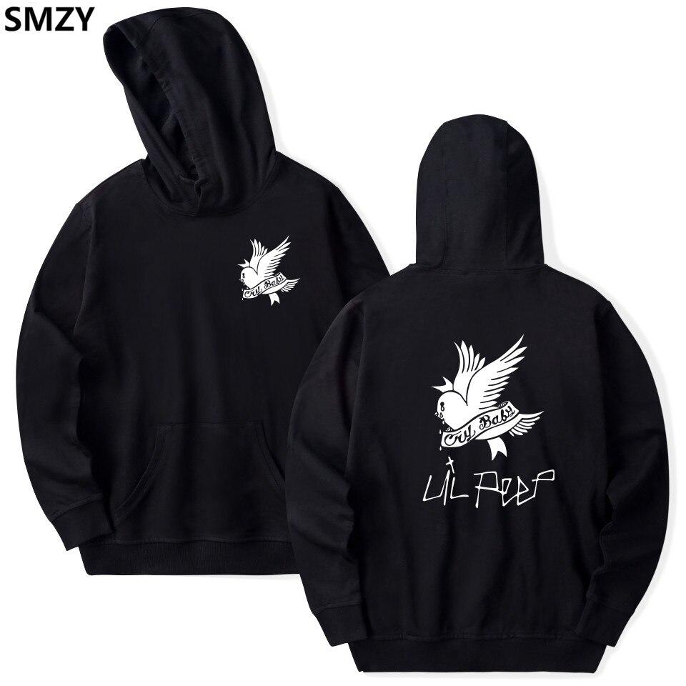 SMZY Lil Peep Mit Kapuze Hoodies Herren Sweatshirts Vereinigten Staaten Populär Rap Singer Sweatshirts Männer Die Große Hip Hop Sänger Kleidung