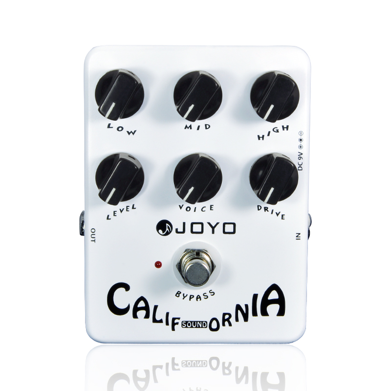 Guitar Effects Joyo JF-15 California Sound Distortion Effect Pedal True Bypass Accessory