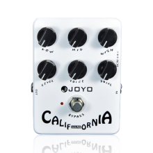 лучшая цена Guitar Effects Joyo JF-15 California Sound Distortion Guitar Effect Pedal True Bypass Guitar Accessory Effects