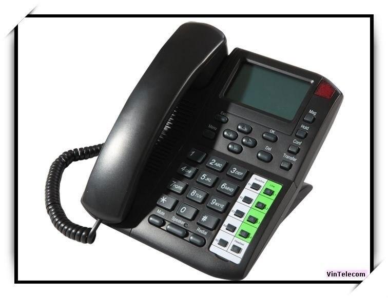 Téléphone VoIP/téléphone VoIP/support de téléphone IP 4 sips-nouveau