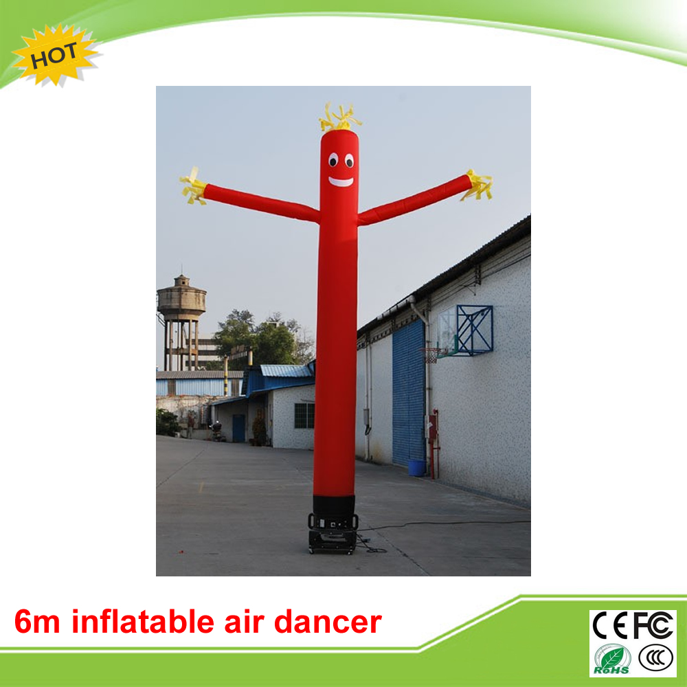6m one leg inflatable air dancer for advertising,most popular inflatable advertising dancing man цена и фото