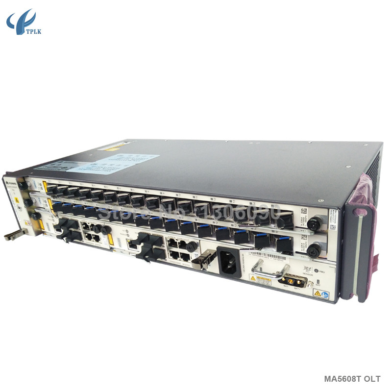 Network Cabinets 1*16 Ports Gpfd C+ Helpful Hua Wei Gpon Olt Ma5608t With 2*mcud1+1* Mpwd