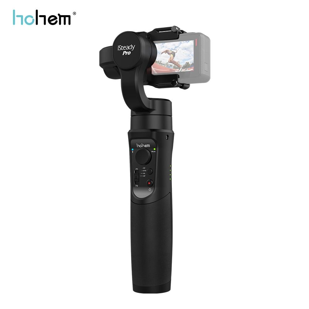 Stabilisateur de cardan portable 3 axes Hohem iSteady Pro pour Gopro Hero 7 6/5/4 Yi 4 K SJCAM DJI Osmo caméra d'action PK Feiyu G6 Plus