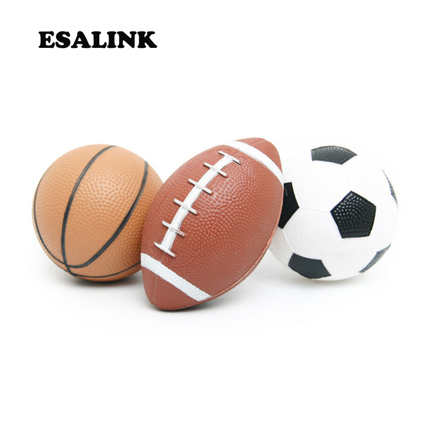 Kids Outdoor Toys High Quality Mini Basketball Football Rugby 3pcs Sport Inflatable Rubber Balls Safe Non Toxic Baby Yard Games