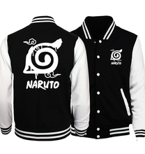 Fashion Naruto clothing baseball uniform sweatshirts hoodies Anime