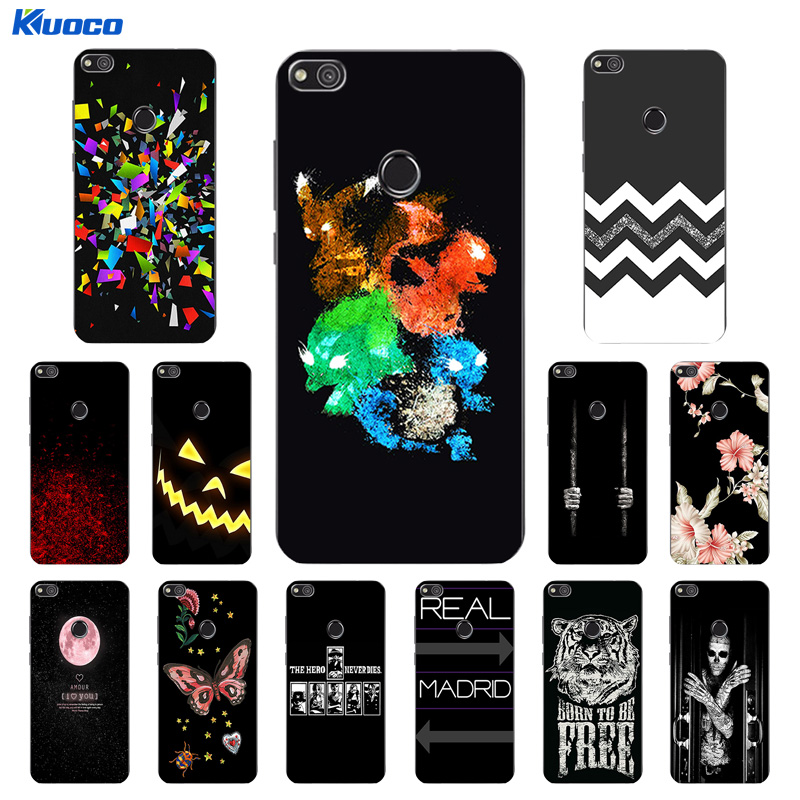 for Huawei P8 Lite (2017) Cases Soft Silicone Covers Character Printing for Huawei P8 Lite 2017/Honor 8 Lite Coque Capa
