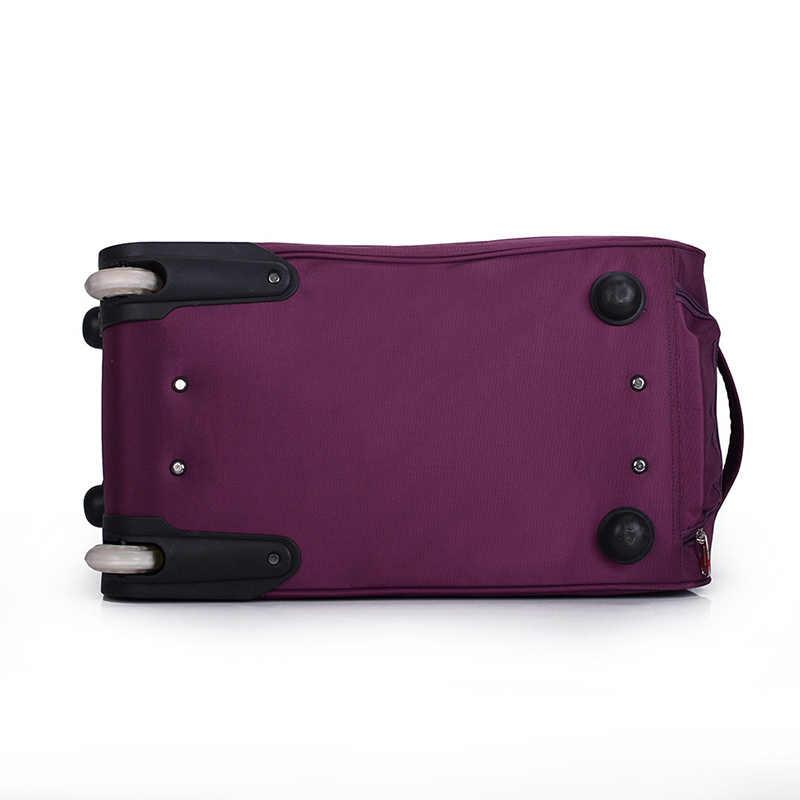 Bolsa de ruedas de gran tamaño para equipaje, bolsa de viaje para mujer, bolsa de mano, bolsa Unisex, bolsas de viaje de gran capacidad, maleta con ruedas