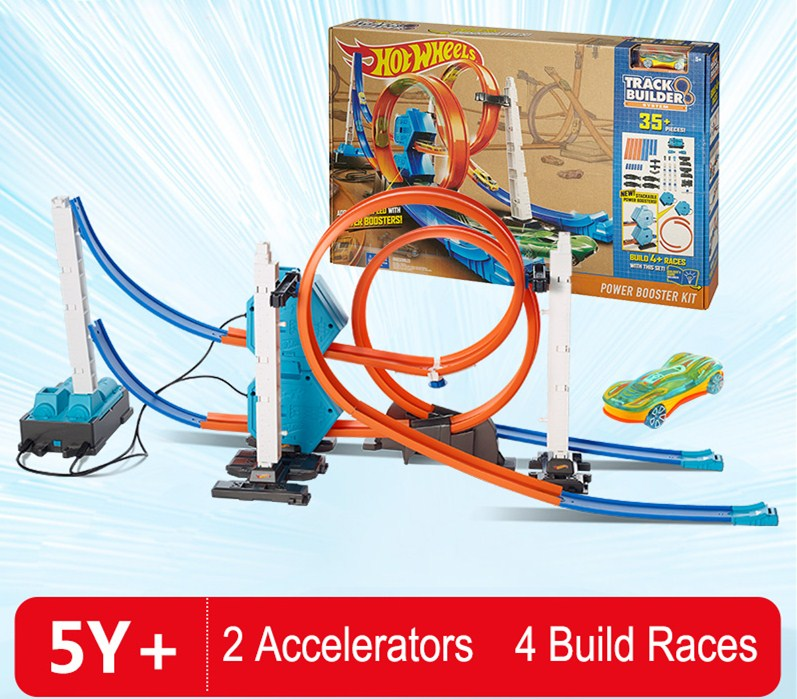Hot-Wheels-Roundabout-Track-Toys-Model-Cars-Classic-Power-Booster-Kit-Toy-Car-Birthday-Gift-For (1)