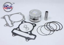 Performance GY6 58 5mm Piston Ring Kit 150CC 155CC ATV Quad Go Kart Buggy Scooter Parts
