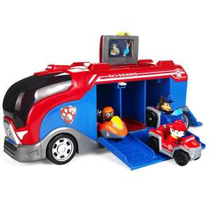 Image 2 - Paw Patrol Rescue Bus Dog Patrulla canina Toys Anime Vehicle Car Plastic Toy Action Figure Model Birthday Gifts Toy For  Child