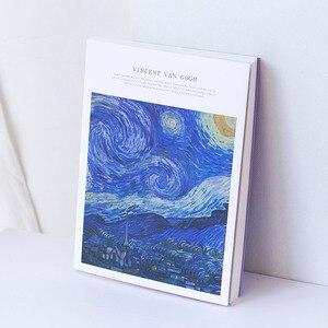 Image 3 - 1pcs 두꺼운 스케치 빈 종이 스케치북 그림책 손으로 그린 특수 예술 그림 종이 낙서 수채화 그림