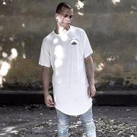 Long Pattern 2017 BLACK PYRAMID Chris Brown Hip Hop Street Style Men T Shirt Fashion Brand