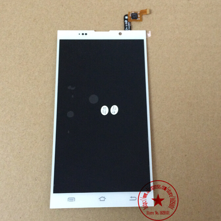 TOP Quality White JY-G6 Full LCD Display Touch Screen Digitizer Assembly For JIAYU G6 Cell Phone Replacement Parts Free Shipping