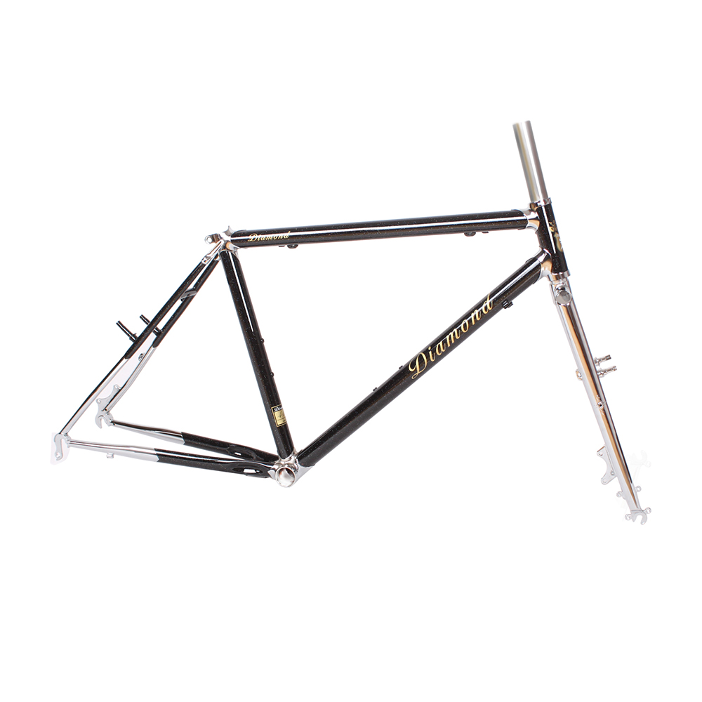 Chrome molybdenum steel 4130 MTB Bike frame 26 inch DIY mountain bike frame touring bicycle frame 17.5 inch 19 inch