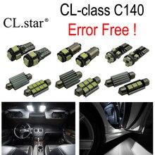 15 шт. x CANBUS ОШИБОК светодиодные внутренних дел плафон лампы комплект пакет для Mercedes-Benz CL Class W140 C140 CL500 CL600 (1993-1998)