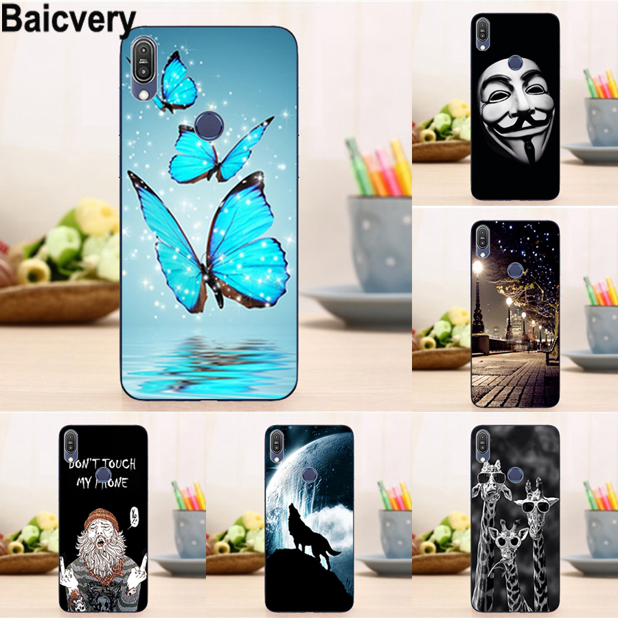 Soft Cover for Asus Zenfone Max Pro M2 ZB631KL  Case for ASUS Zenfone Max Pro M1 ZB602KL X00TD case for Asus Max m2 zb633kl
