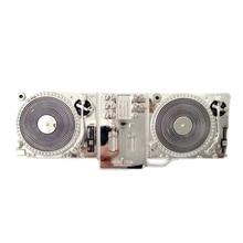 Серебряный dj проигрыватель проигрывателей дисков, металлический ремень с пряжкой, Мужская большая пряжка для ремней, аксессуары, розничная, на заказ, зажим для ремня