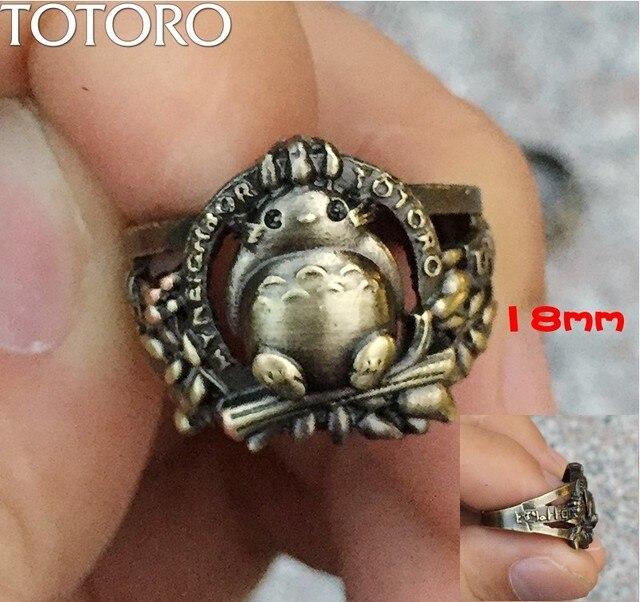 Аниме кольцо Мой сосед Тоторо 18 мм