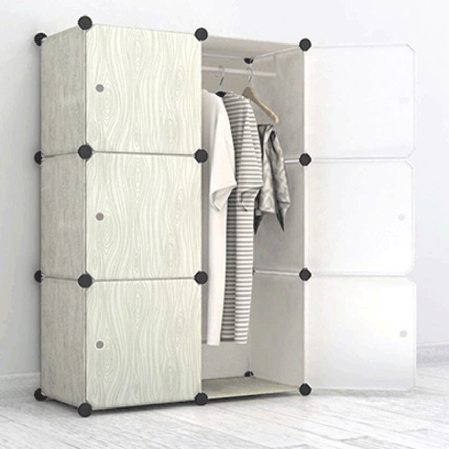verdiepen meubels slaapkamer garderobe kast kast diy verwijderbare ...