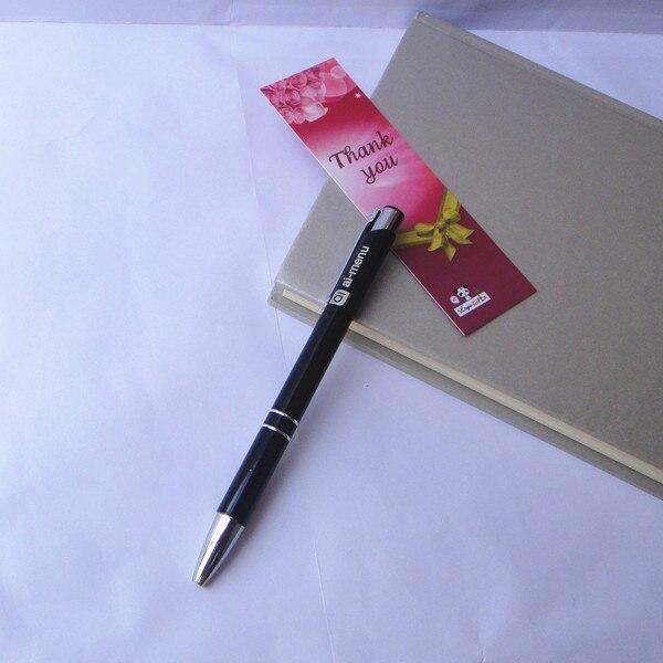 16g metalowe długopisy nowy unikalny prezenty firmowe dostosowane darmowa swoje logo i tekst za pomocą lasera maszyna do znakowania 200 sztuk wiele w Długopisy kulkowe od Artykuły biurowe i szkolne na  Grupa 3