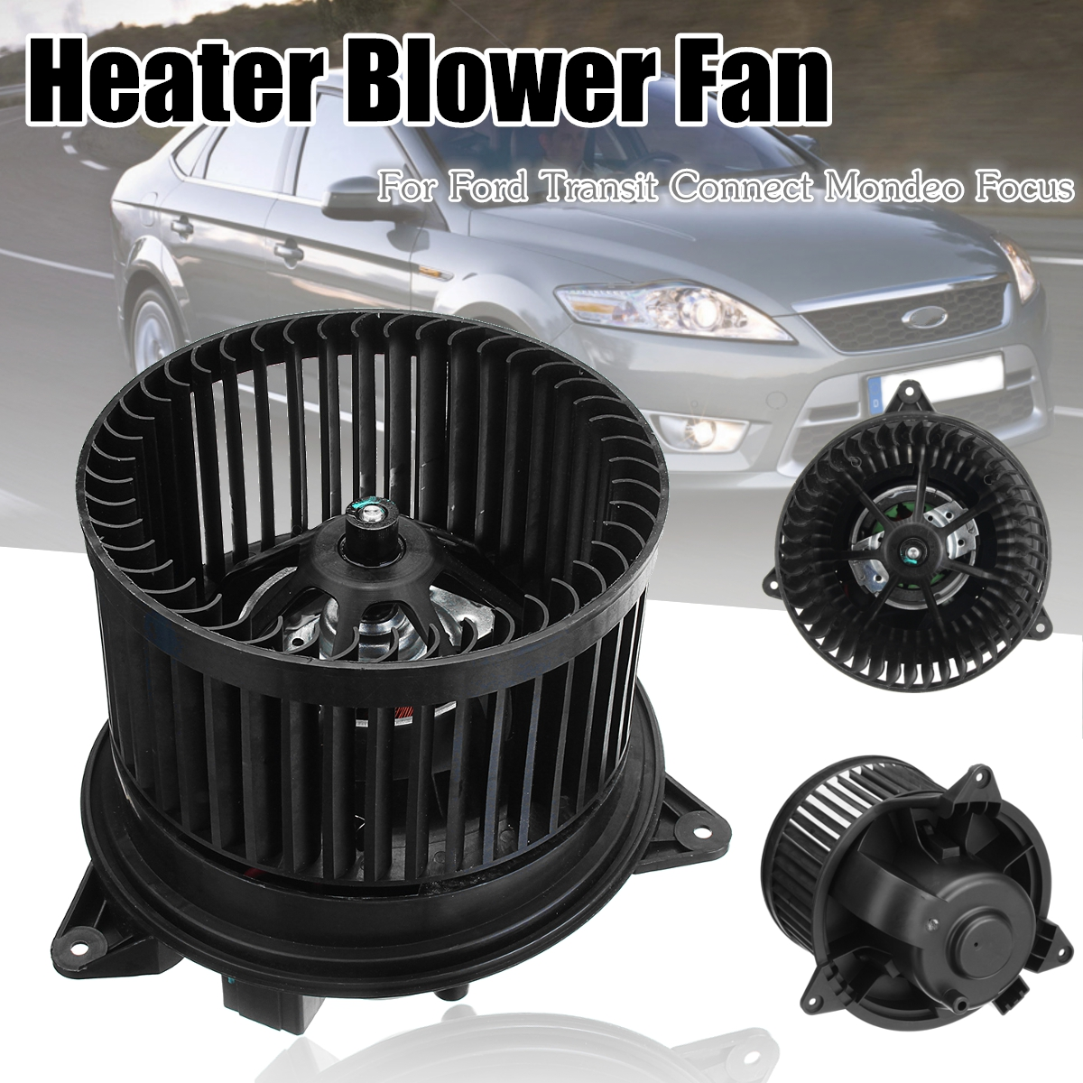 1151989 1116783 Car Air Heater Blower Fan Motor For Ford