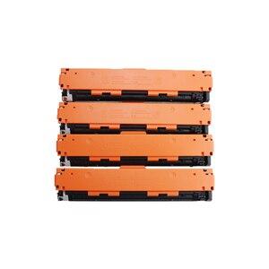 Image 2 - תואם טונר מחסנית CB540A CB540 540A 540 CB541A CB542A CB543A 125A עבור HP Color LaserJet CP1215 CP1515n CP1518ni CM1312