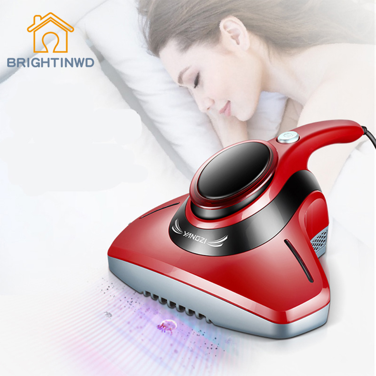 BRIGHTINWD UV Lamp Mite Bed Sterilization Machine In Addition To Mites Vacuum Cleaner Small Mini Dust купить в Москве 2019