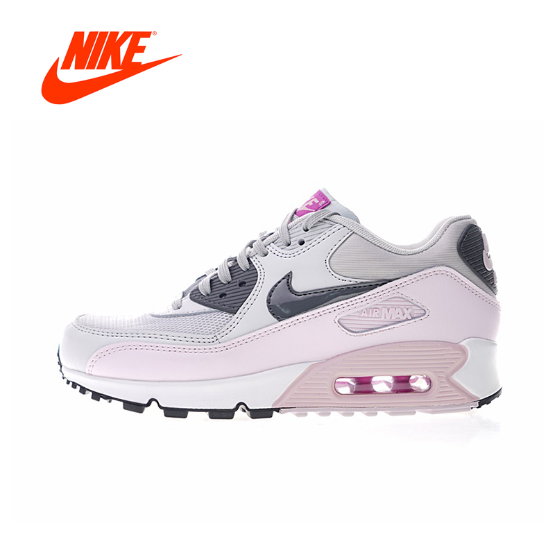 Original New Arrival Authentic Nike Air Max90 Essential Women's Breathable Running Shoes Sport Sneakers Good Quality 616730-112 цена