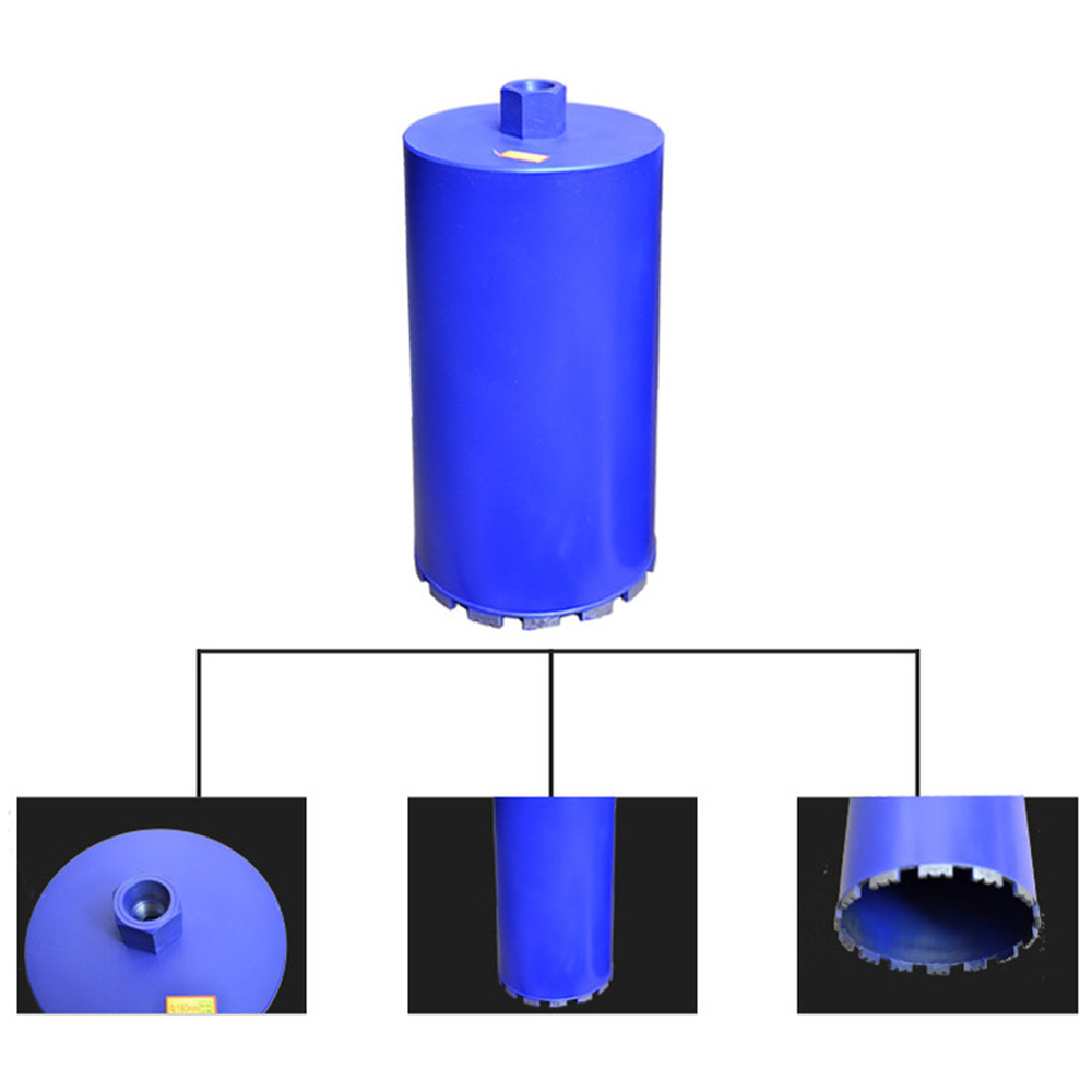 76x450mm New Wet Diamond Core Drill Bits Hole Saw Cutter For Rock Granite