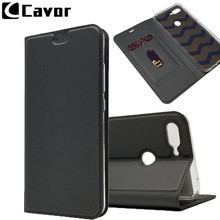 Leather Flip Coque Case For Xiaomi Mi 8