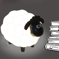 Lovely Cartoon Sheep Led Night Light Children Bedroom Desk Lamp Protect Eye Book Lamp Best Gift For Children