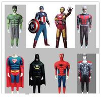 Adult Green Giant Muscle American Captain Raytheon Spiderman Iron Revenge Garment Superman Costume