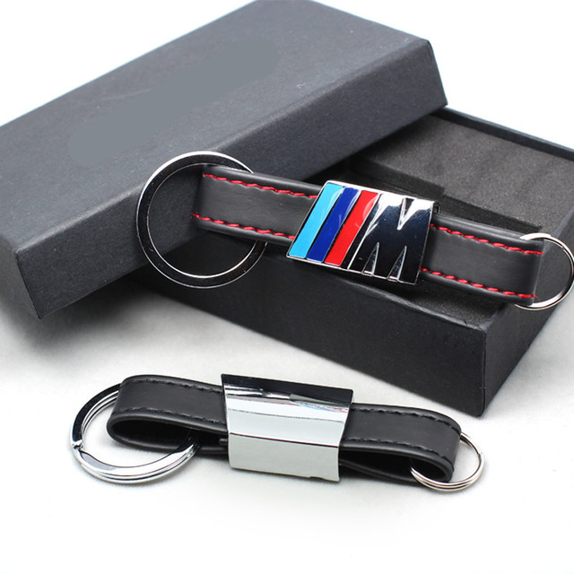 BMW M3 Leather Keychain