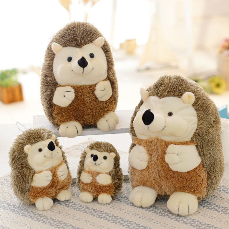 1pcs Kawaii Hedgehog Plush Toys Cushion Dolls Children's Stuffed Soft Toy Popular Toy Pillow Christmas Gift for Cushion Pillow