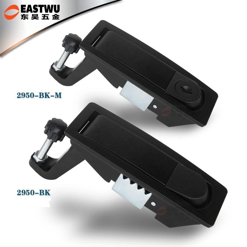 2PCS Black Compression Latch for Caravan Lock Trailer Lock Toolbox JF1845