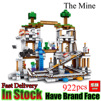 Lepin Minecraft 922 Stucke Der Mine My World Figur Kinder Legoed Education Building Blocks Bricks Spielzeug