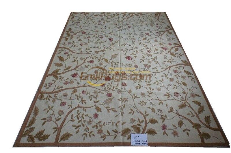 Tapis en Imitation de l'ancien européen Aubussen fait à la main Antique décor Rectangle tapis tapis turc