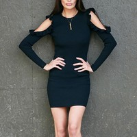 Women Dress Winter Long Sleeve Knitted Sweater Slim Lady New Autumn Solid Pure Color Sexy Dresses Stretch Brief Bodycon Vestidos