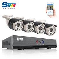 ANRAN 4CH CCTV System 720P HDMI AHD DVR 4PCS 1 0 MP IR Night Vision Outdoor