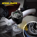 Steelmate DIY TP-90 Motocicleta TPMS Tire Sistema Monitor de Pressão Display LCD Sem Fio À Prova D' Água 2 Sensor Externo