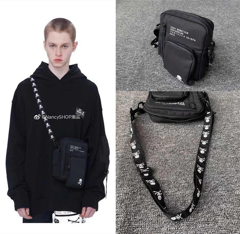 Mastermind Japan Bag MMJ Skull Men 1:1 High Quality Hiphop Streetwear Fashion Mastermind Japan  Backpacks