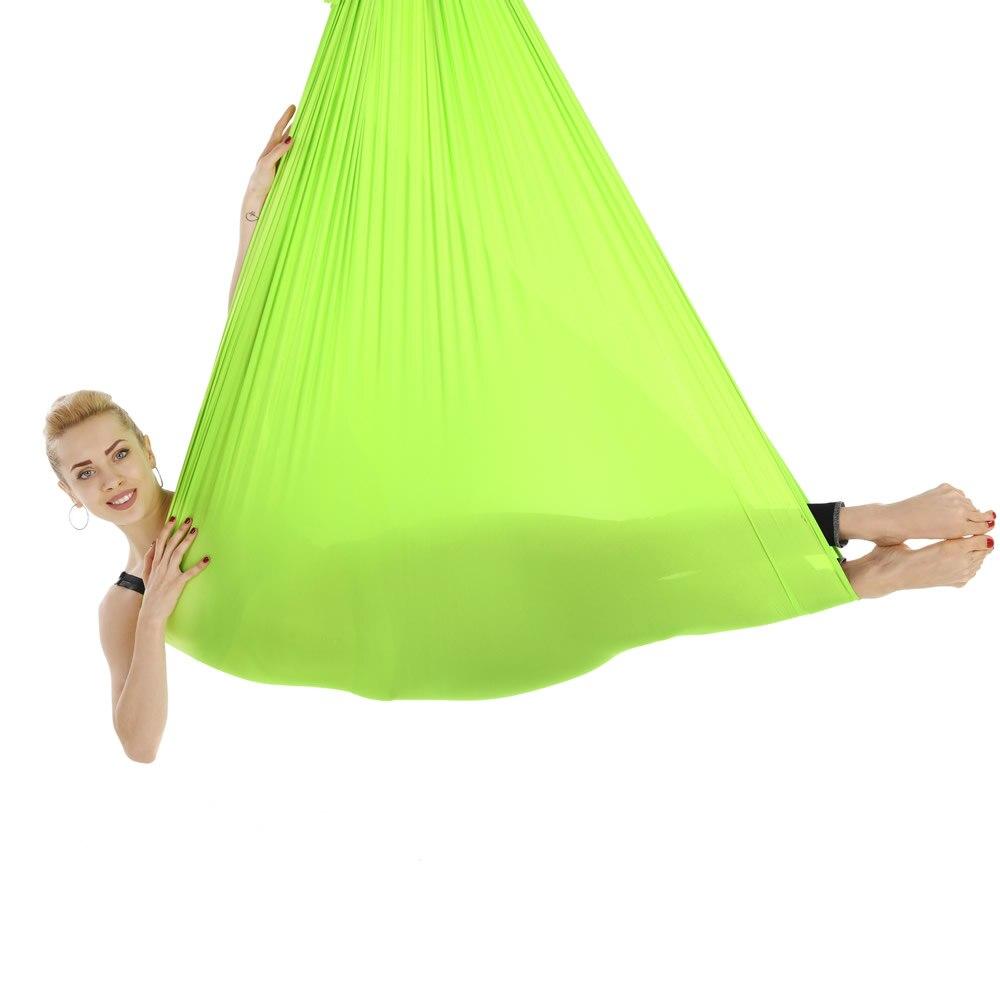 5*2,8 mt Elastische Aerial Yoga Hängematte Schaukel Neueste Anti-gravity  Yoga Gürtel Für Yoga Ausbildung Yoga Sport