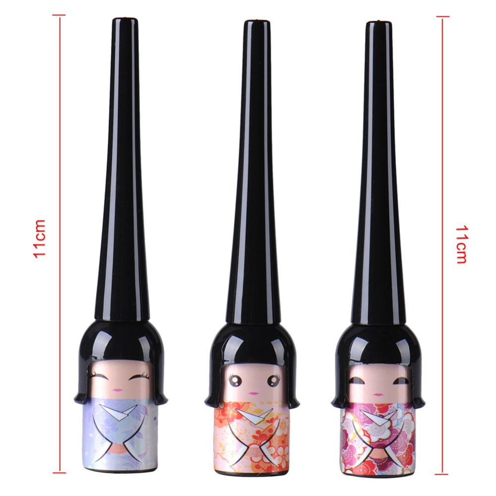 Łatwy w stosowaniu Kosmetyczny wodoodporny płynny eyeliner w - Makijaż - Zdjęcie 4
