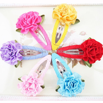 100pcs Rainbow Colored Loopy Bow Puff Hair Bow Free Shipping
