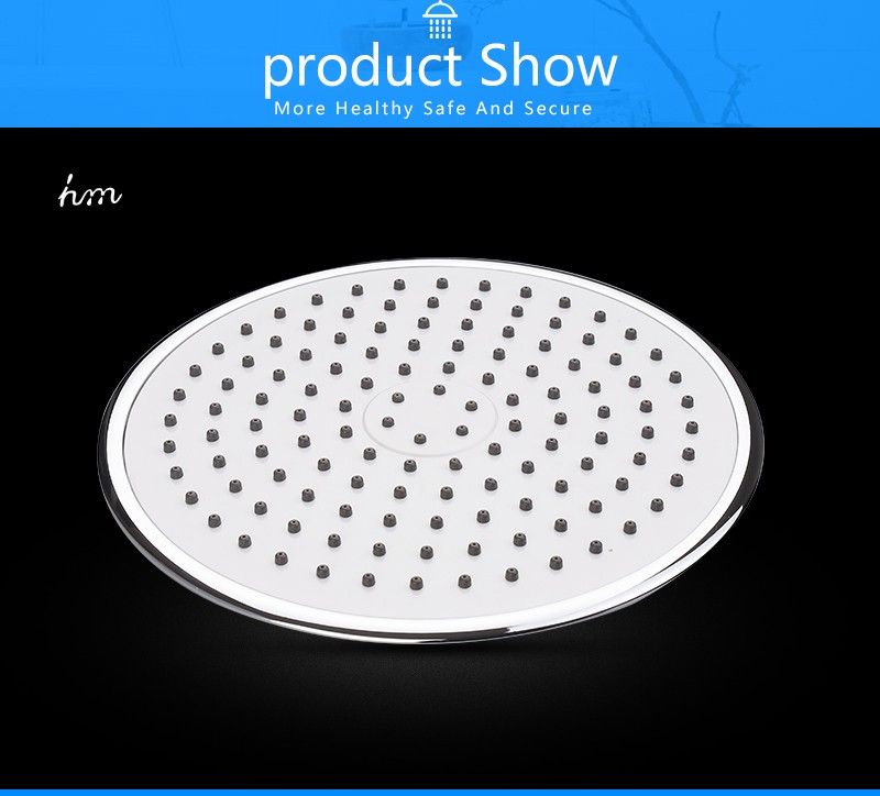 Rain Shower Head,9 Inch UltraTthin Regaderas Para Ducha,Banheiro Head Shower,Chuveiros Prysznic Duschkopf,Bathroom Showerhead (12)