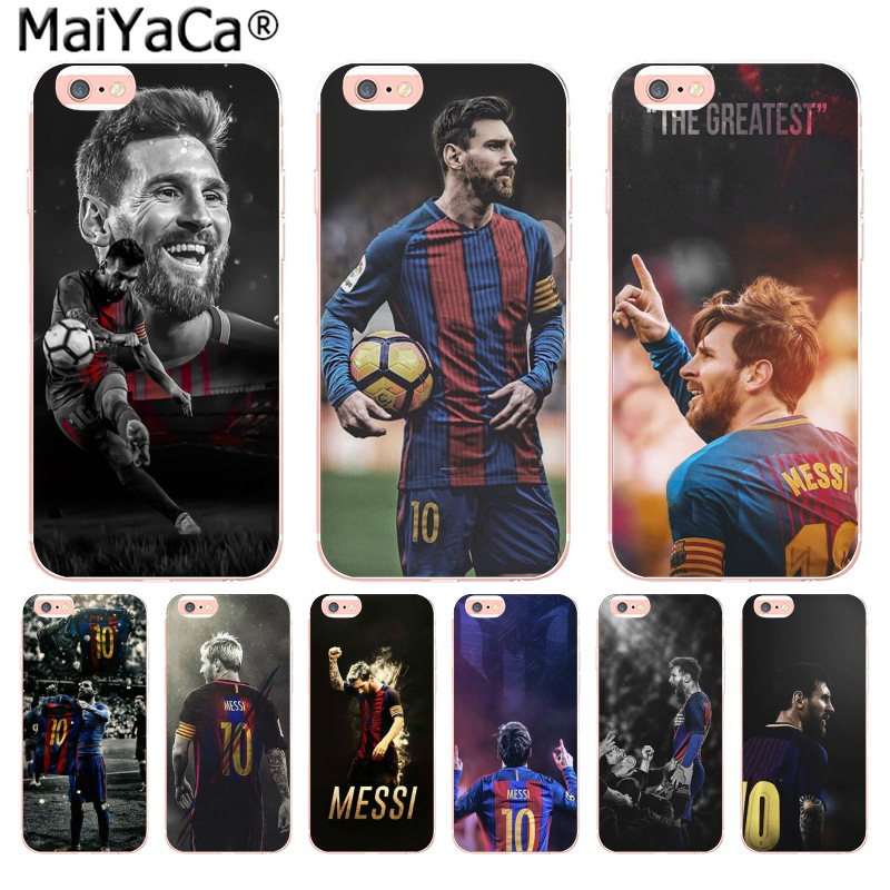 MaiYaCa Lionel Messi Hot on sell Unique Design Newest The Fashion phone Case for iPhone 8 7 6 6S Plus X 10 5 5S SE 5C 4 4S Cover