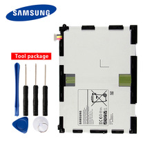 Original Samsung EB-BT550ABA Battery Tablet For GALAXY Tab A 9.7 P555C P550 T550 T555C 6000mAh синий цветок стиль тиснение классический откидная крышка с подставкой функция и слот кредитной карты для samsung galaxy tab a 9 7 t550