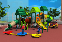 CE TUV SGS Amusement Outdoor Playground Slide Equipment Children Combined Slide Playground For Park School Community