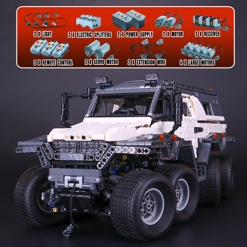 New LEPIN 23011 2959Pcs Technic Series Off-road vehicle Model Educational Building Kits Block Bricks Compatible Toys 5360 Gifts new lp2k series contactor lp2k06015 lp2k06015md lp2 k06015md 220v dc